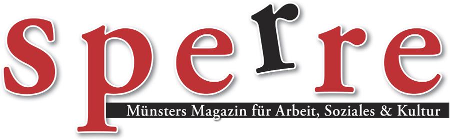 Bildergebnis für logo vom magazin die sperre
